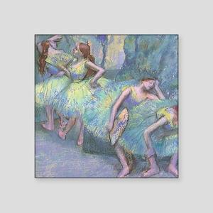Ballet Dancers by Edgar Degas Sticker