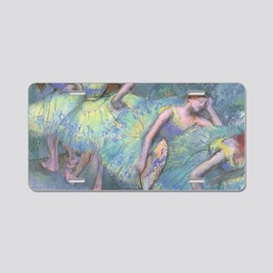 Ballet Dancers by Edgar Deg Aluminum License Plate
