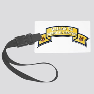 VA - Scroll - Medical Center - D Large Luggage Tag