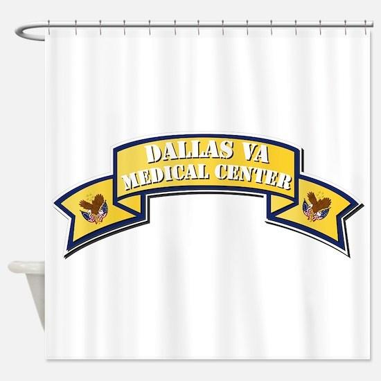 VA - Scroll - Medical Center - Dall Shower Curtain