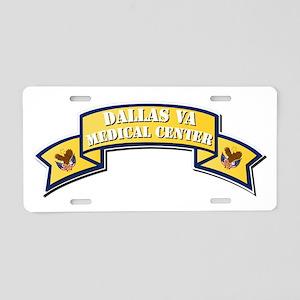 Va - Scroll - Medical Cente Aluminum License Plate