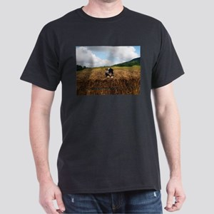 Puppy On Hay T-Shirt