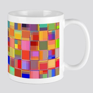 Color Mosaic Mugs