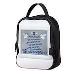 Hope bright Neoprene Lunch Bag