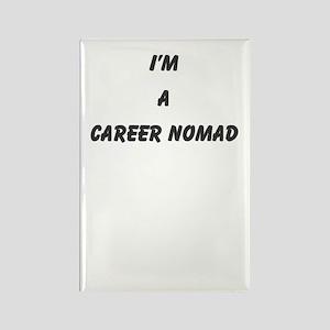 career nomad Rectangle Magnet