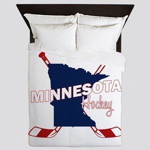 Minnesota Hockey Queen Duvet