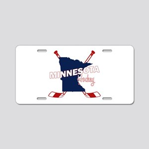 Minnesota Hockey Aluminum License Plate