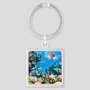 Tropical Fish Keychains
