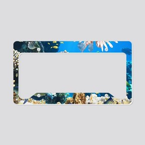 Tropical Fish License Plate Holder