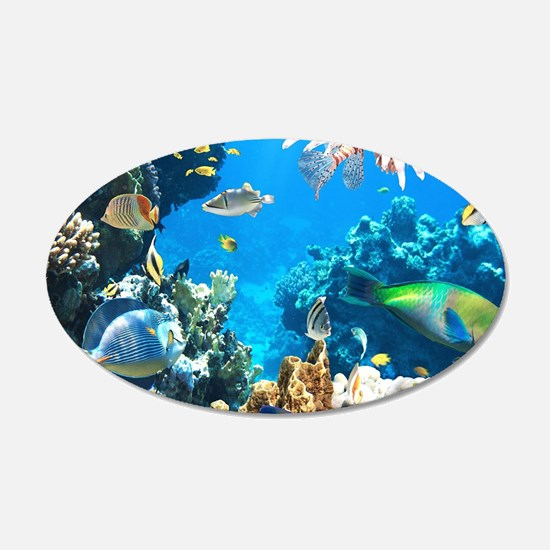Tropical Fish Wall Decal