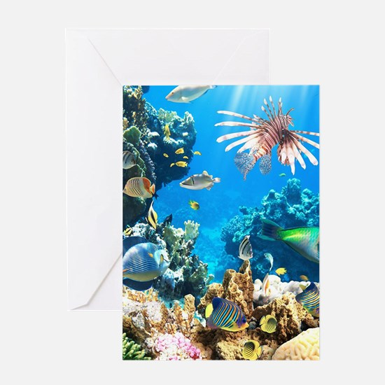 Tropical Fish Greeting Cards
