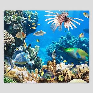 Tropical Fish King Duvet