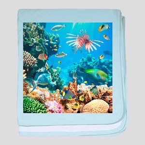 Tropical Fish baby blanket