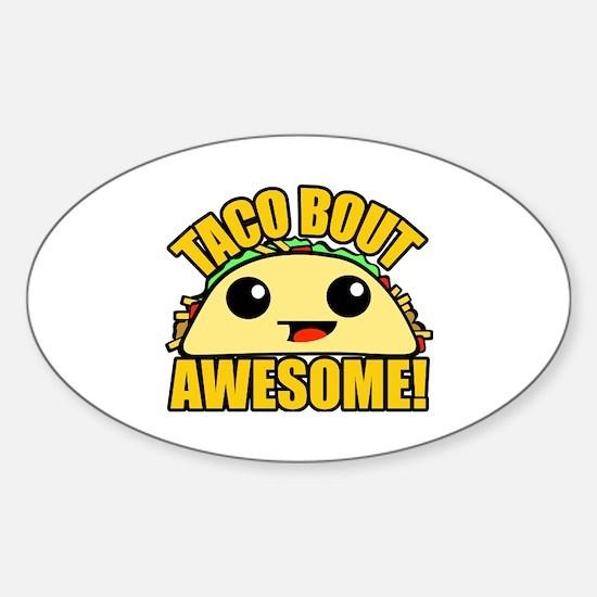Cute Bout Sticker (Oval)
