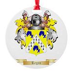 Regan Round Ornament