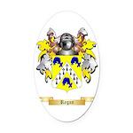 Regan Oval Car Magnet