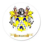 Regan Round Car Magnet