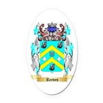 Reeves 2 Oval Car Magnet