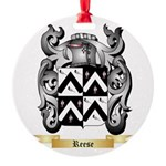 Reese Round Ornament