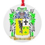Reens Round Ornament