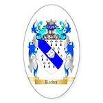 Reeder Sticker (Oval 10 pk)