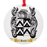 Reece Round Ornament