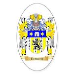 Redworth Sticker (Oval 10 pk)
