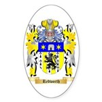 Redworth Sticker (Oval 50 pk)