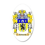 Redworth 35x21 Oval Wall Decal