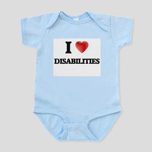 I love Disabilities Body Suit