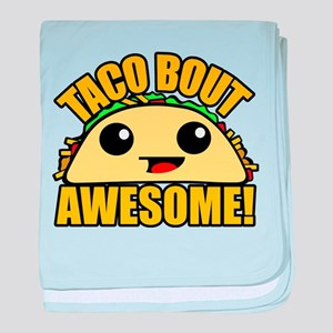 Taco Bout Awesome baby blanket