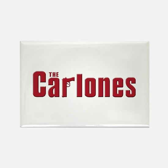 The Carlones Rectangle Magnet