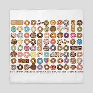 86 Donuts Queen Duvet