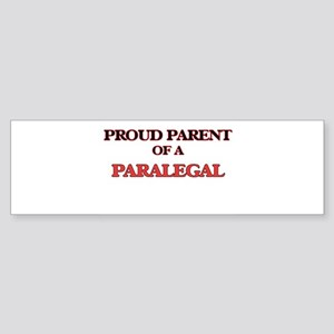Proud Parent of a Paralegal Bumper Sticker