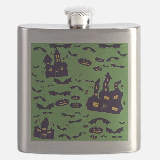 Funny House haunted Flask