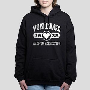 Vintage 1938 Women's Hooded Sweatshirt