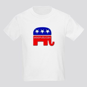 """Weepublican"" Kids Light T-Shirt"
