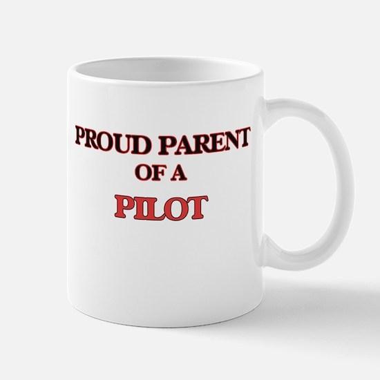 Proud Parent of a Pilot Mugs