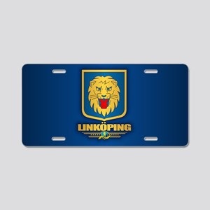 Linkoping Aluminum License Plate