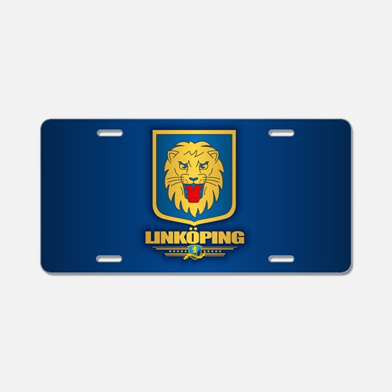 Linkoping Aluminum License Plate