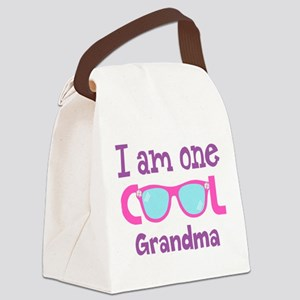 Cool (p) Canvas Lunch Bag