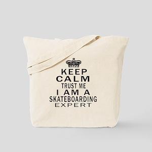 Skateboarding Expert Designs Tote Bag