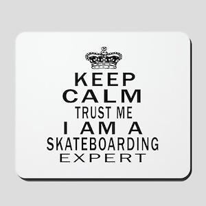 Skateboarding Expert Designs Mousepad