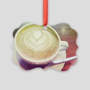 vintage coffee love Ornament