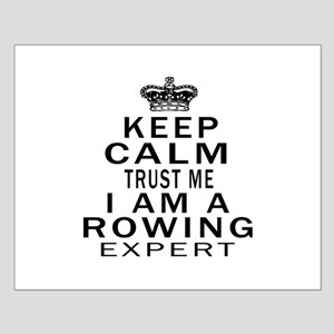 Rowing Expert Designs Small Poster