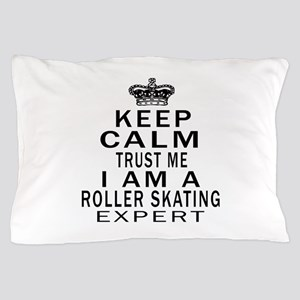 Roller Skating Expert Designs Pillow Case