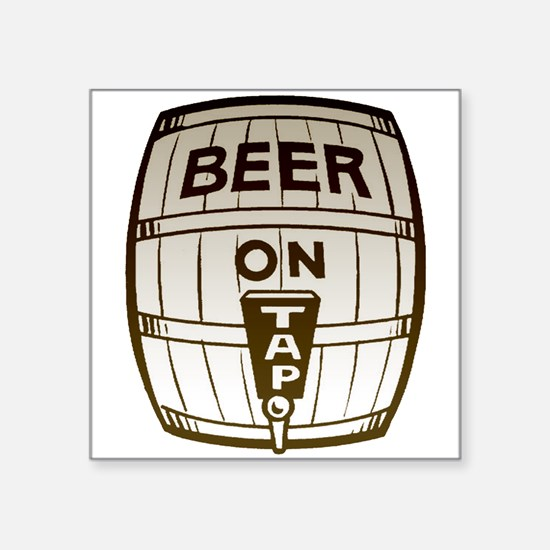 Beer On Tap Sticker