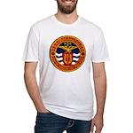 USS FARRAGUT Fitted T-Shirt