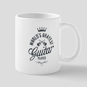 World's Okayest Guitar Player Mug