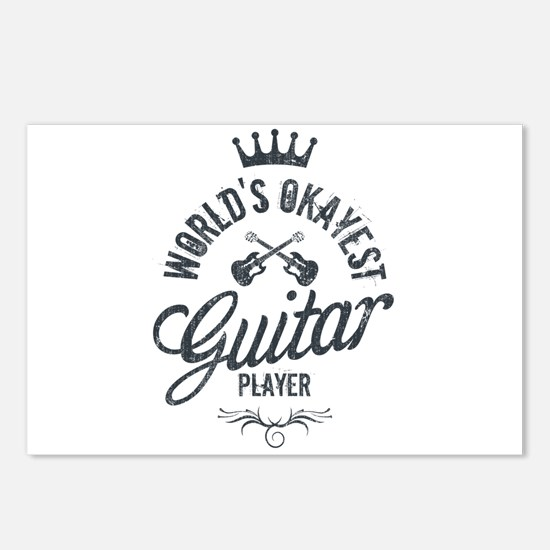 World's Okayest Guitar Pl Postcards (Package of 8)